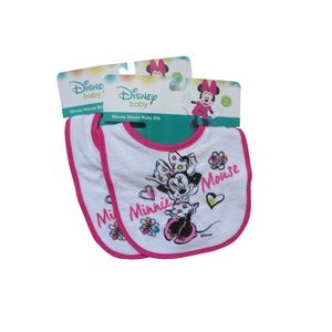 Disney│ Minnie Mouse Baby Bib (2 set)